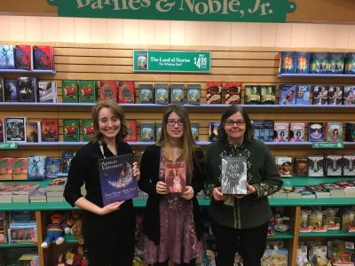 Top booksellers from our Eagan, MN, store (pictured left to right): Head Cashier Savannah Hanley, Bookseller Taylor Johnson and Children's Lead Jennifer Leighton.